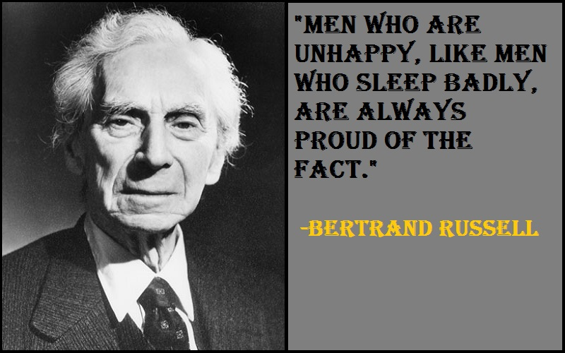 Inspirational Bertrand Russell Quotes