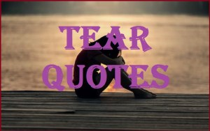 Motivational Tear Quotes And Sayings