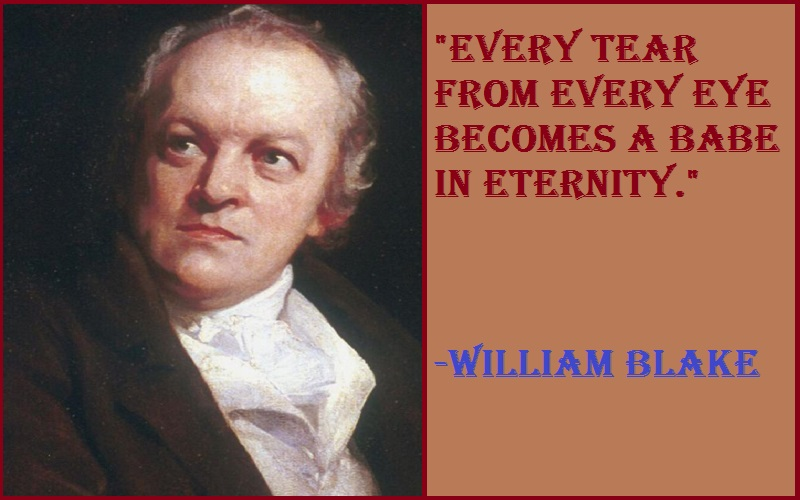 William Blake Tear Quotes