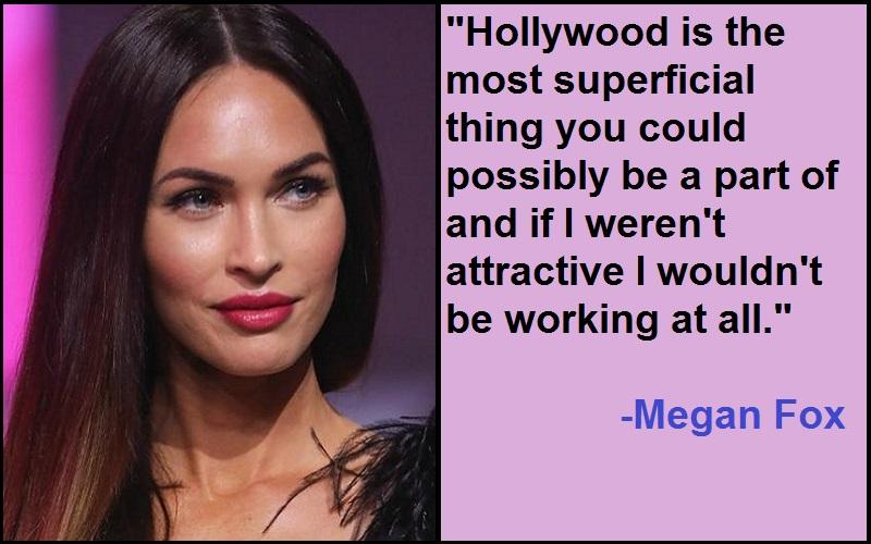 Inspirational Megan Fox Quotes