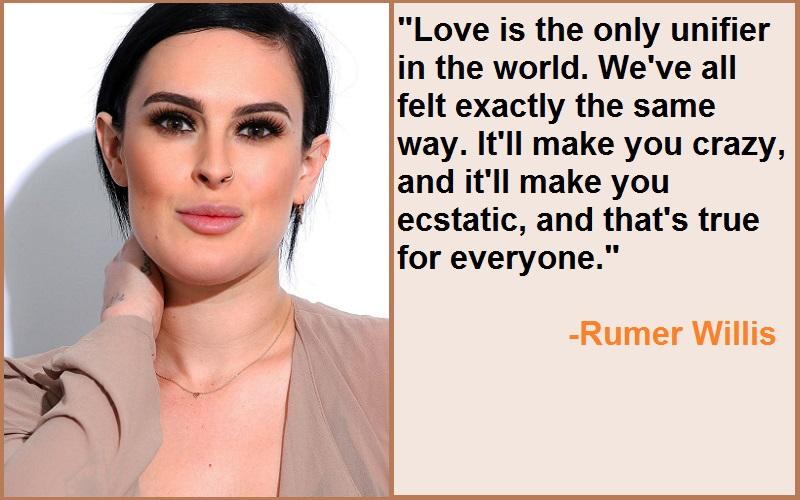 Inspirational Rumer Willis Quotes