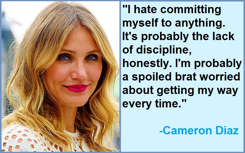 Wonderful Quotes By Cameron Diaz