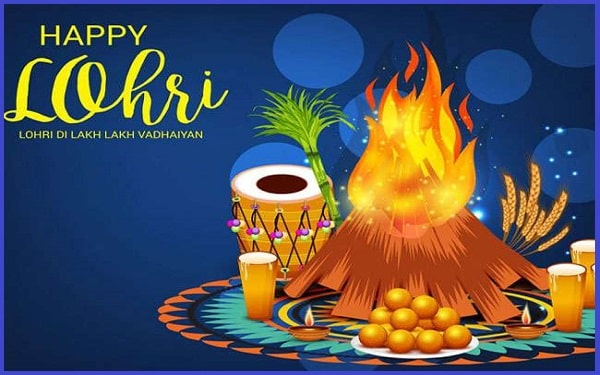 Happy Lohri Wishes, Messages And Greeting