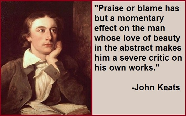 Inspirational John Keats Quotes