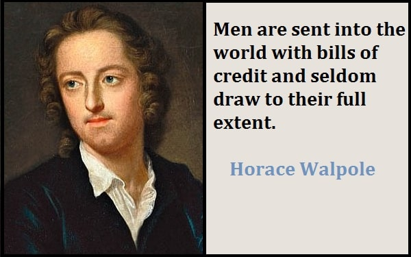 Inspirational Horace Walpole Quotes