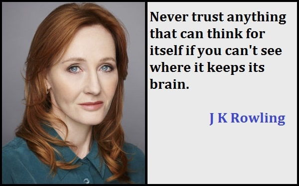 Inspirational J K Rowling Quotes
