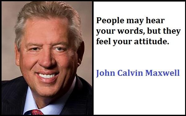 Inspirational John Calvin Maxwell Quotes