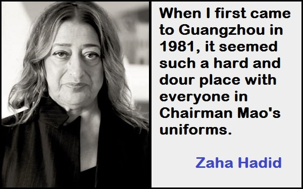 Inspirational Zaha Hadid Quotes