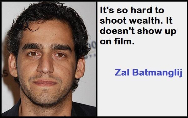 Inspirational Zal Batmanglij Quotes