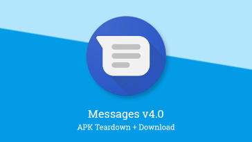 Google Messages v4.0 enables renaming of group chats, changes colors for unpictured contacts, and more [APK Teardown]