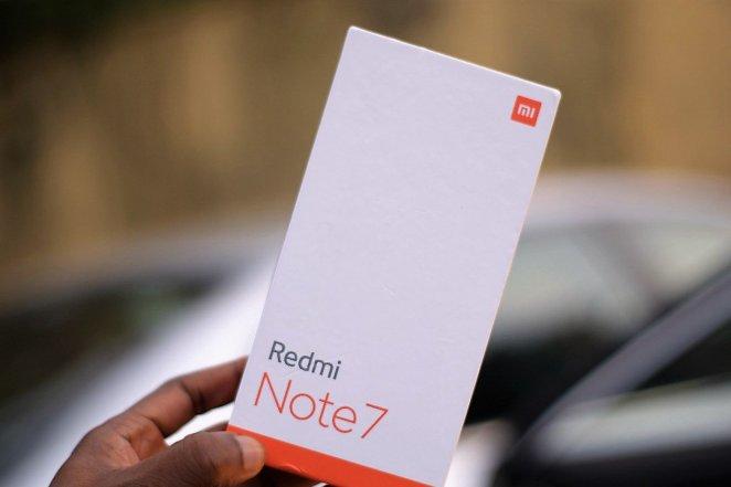 Redmi Note 7 box