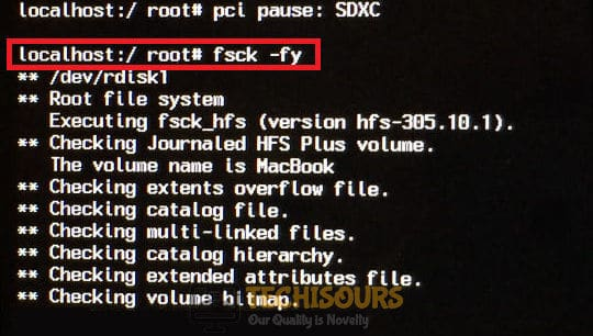 File System Check