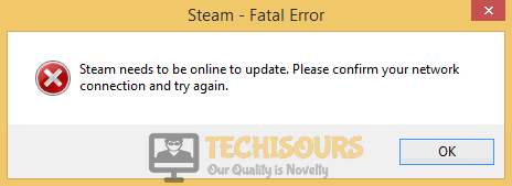 steam fatal error