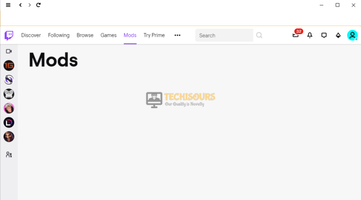 Mods Tab not Loading