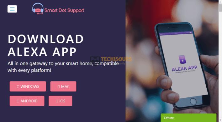 Download Alexa app to get rid of error 12:2:15:10:1