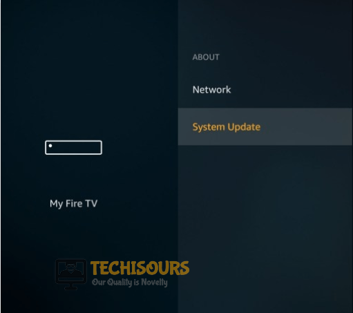 Check for updates to fix the Firestick Keeps Restarting issue
