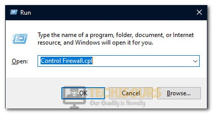 Opening Firewall