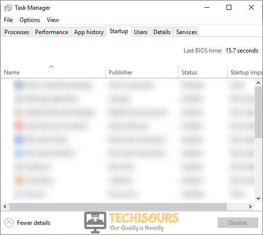 Disable startup services to resolve ss3svc64.exe on startup problem