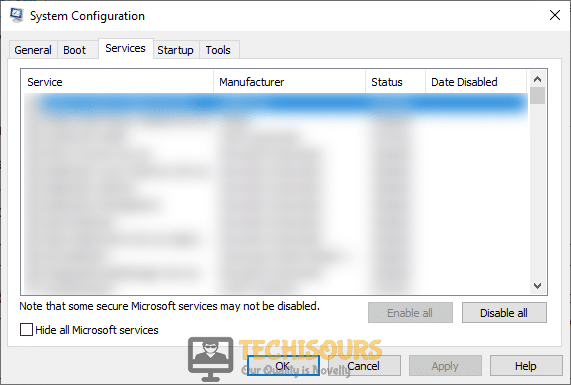 Disable Origin services