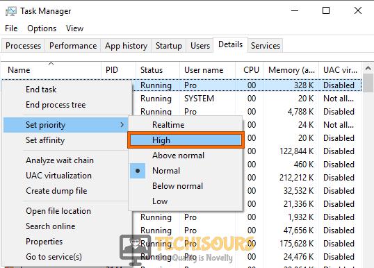 Set high priority to fix .net runtime optimization service high cpu error