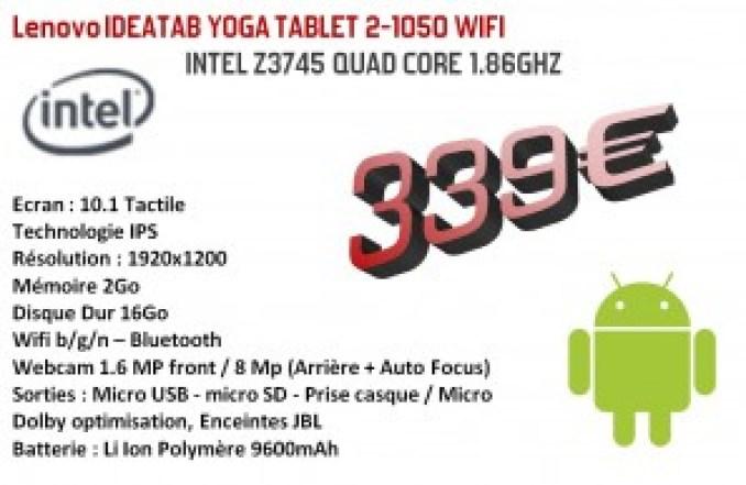 Lenovo IDEATAB YOGA TABLET 2-1050 WIFI