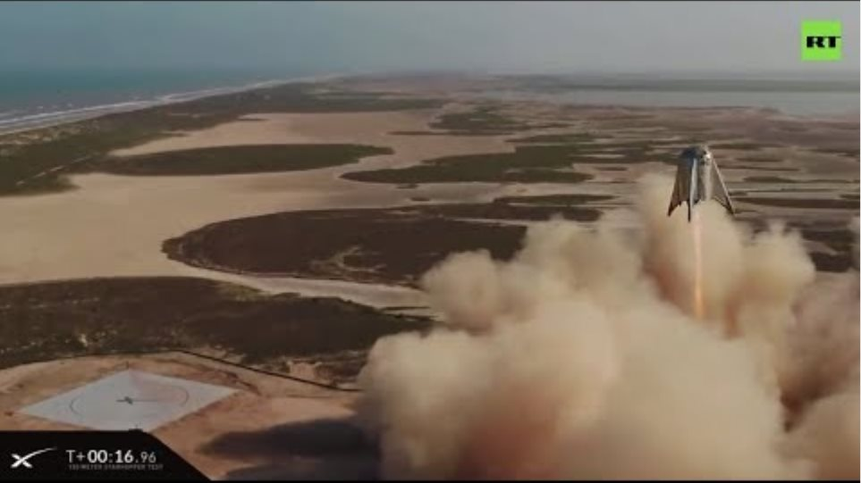 SpaceX successfully tests 'Starhopper' Mars-colonizing spaceship