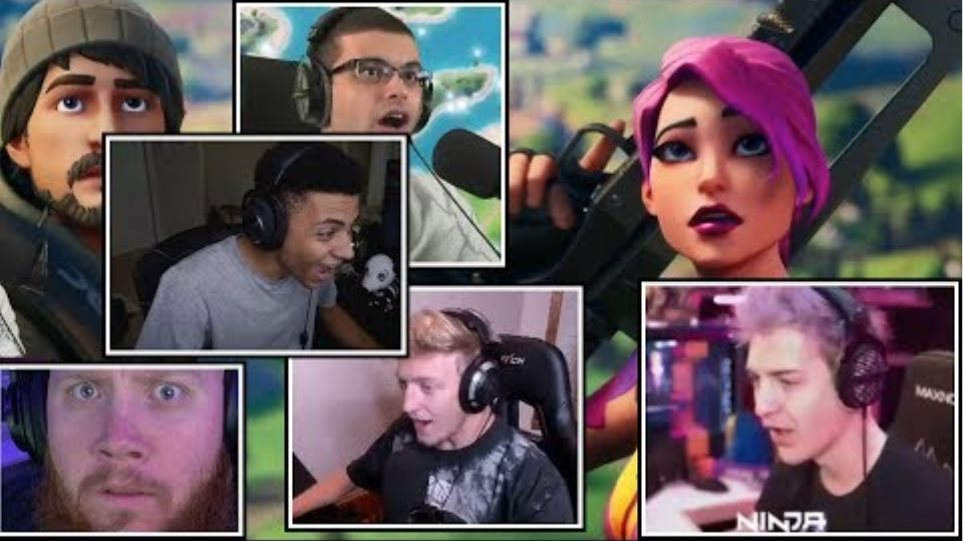 Ninja & Streamers First Reaction To *FORTNITE CHAPTER 2*