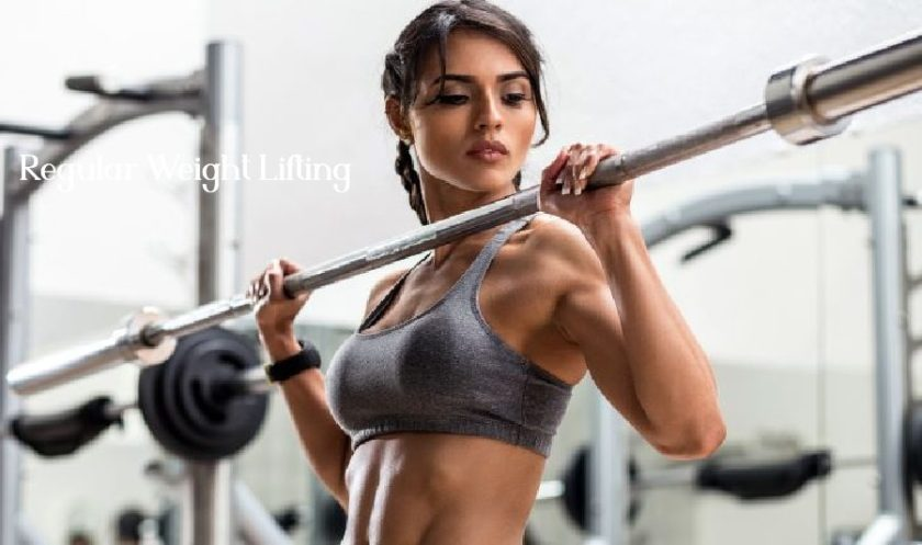 regular weigh lifting to lose belly fat