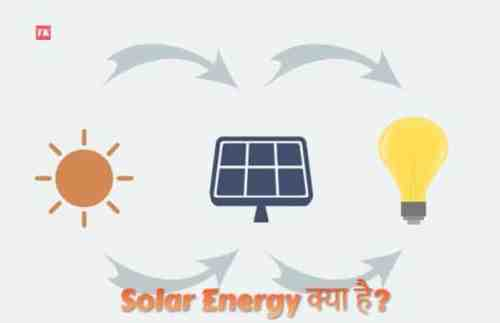 what is solar energy in hindi
