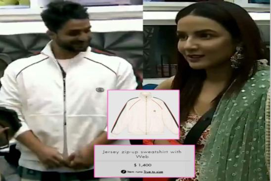 In which episode of Bigg Boss Aly gifted Jasmine a bracelet?