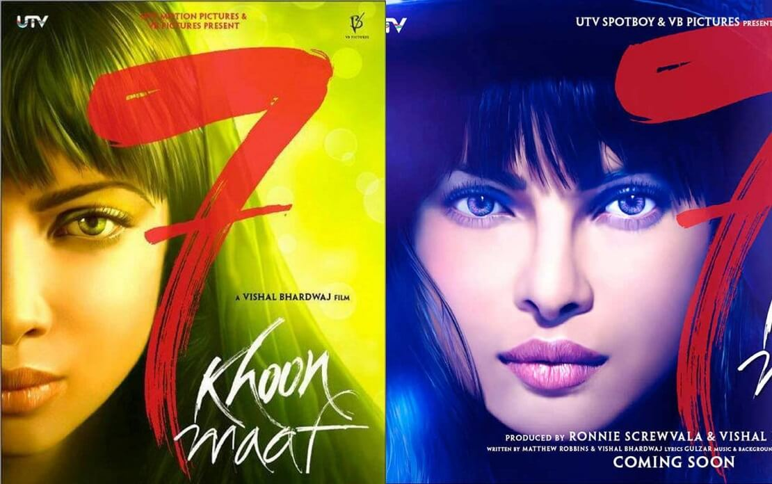 7 Khoon Maaf Movie (2011) Netflix: Cast, Crew, Release Date, Story, Posters, Roles