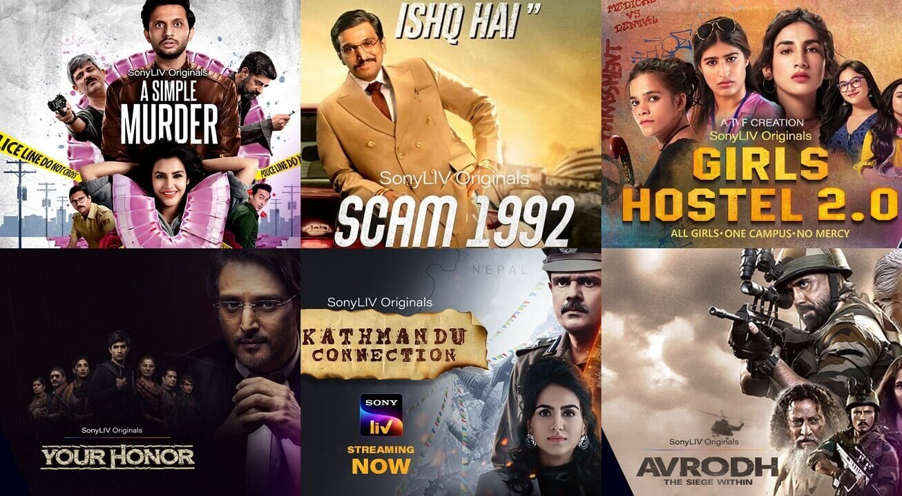 All Sony Liv Web Series Cast and Actress List