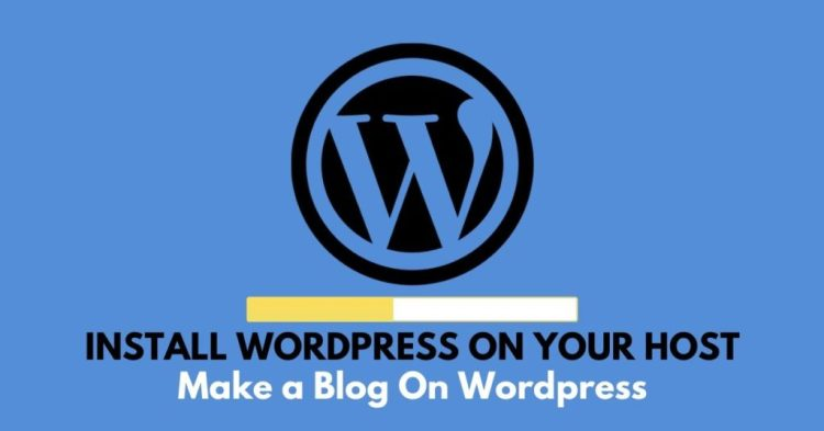 make a blog on wordpress,#10 How to Make a Blog on WordPress for Free With Zero Coding Skill