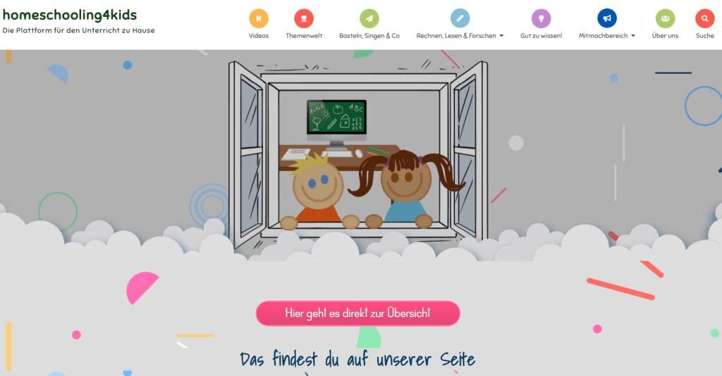 Homeschooling Startseite