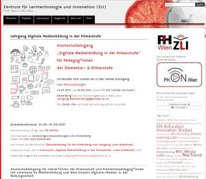 Read more about the article Lehrgang Digitale Medienbildung in der Primarstufe