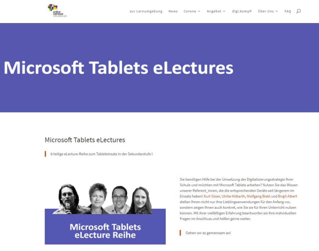 Mirosoft Tablet Lectures