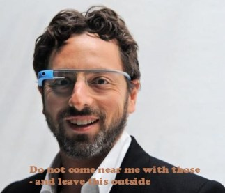 Google glass hacked