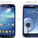 Comparison or Differences of Galaxy S4 vs Galaxy S3
