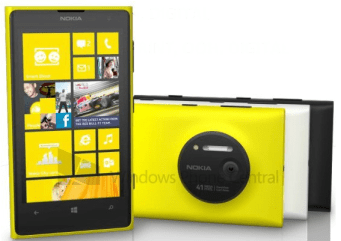 Nokia lumia 1020 features and specifications