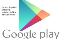 how to stop or remove old apps from installing automatically on new android device