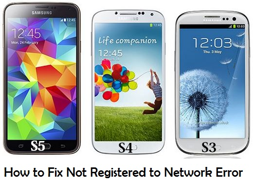 how to fix or solve not registered on network error in smasung rh techknowzone com samsung galaxy s4 mini manual network selection Samsung S4 Backup