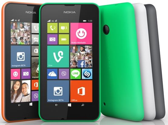 nokia lumia 530 launched with windows 8.1