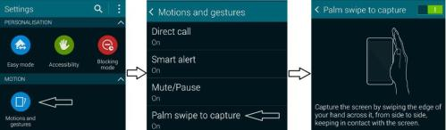 How to capture screenshot in Galaxy K Zoom