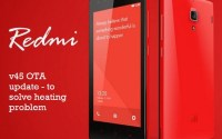 Redmi 1s software update to solve battery heating problem