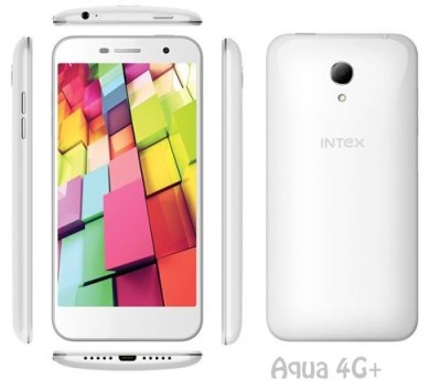 Intex aqua 4G+ features specs and pricing
