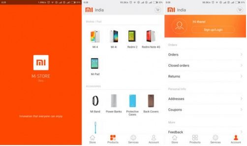 Mi Store app beta version released in India