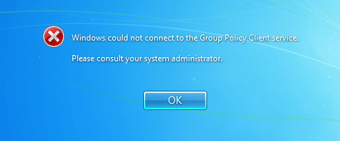 GPC - Unable to Login