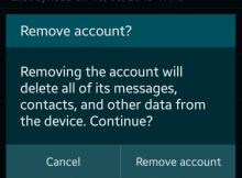 How to Remove Google Account from Android device without factory reset