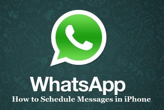 Schedule messages in whatsapp