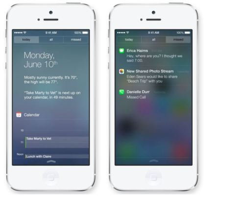 How to hide notifications in iPhone